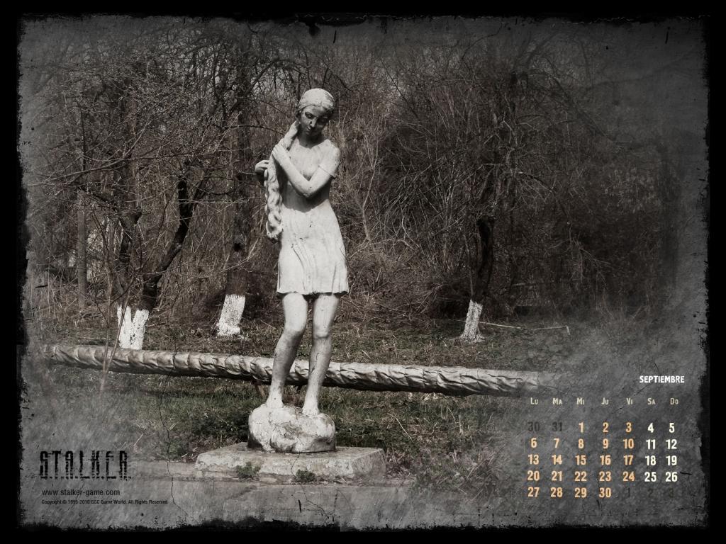 STALKER Septiembre Calendario 2010
