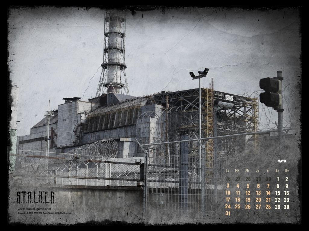 S.T.A.L.K.E.R. Calendario Mayo 2010